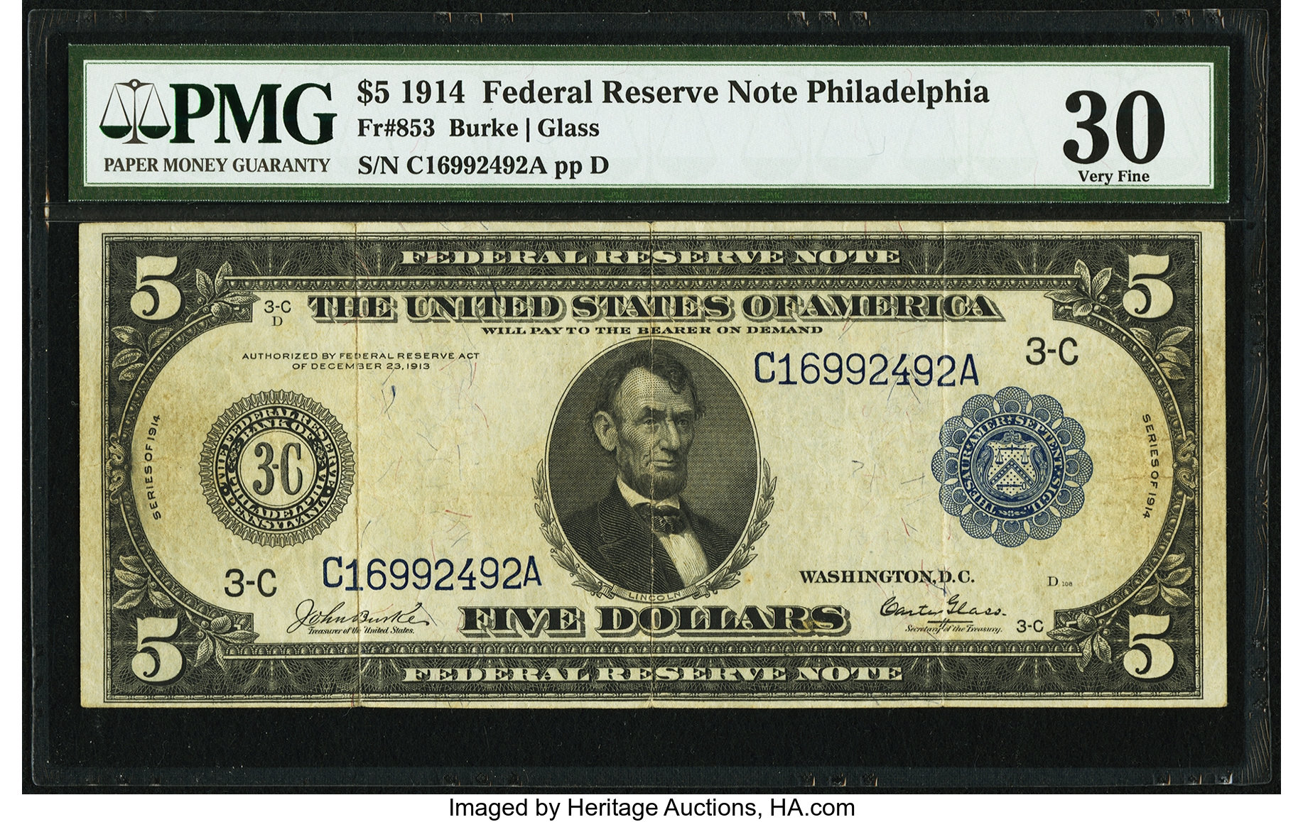 sample image for Fr.853 $5 Philly
