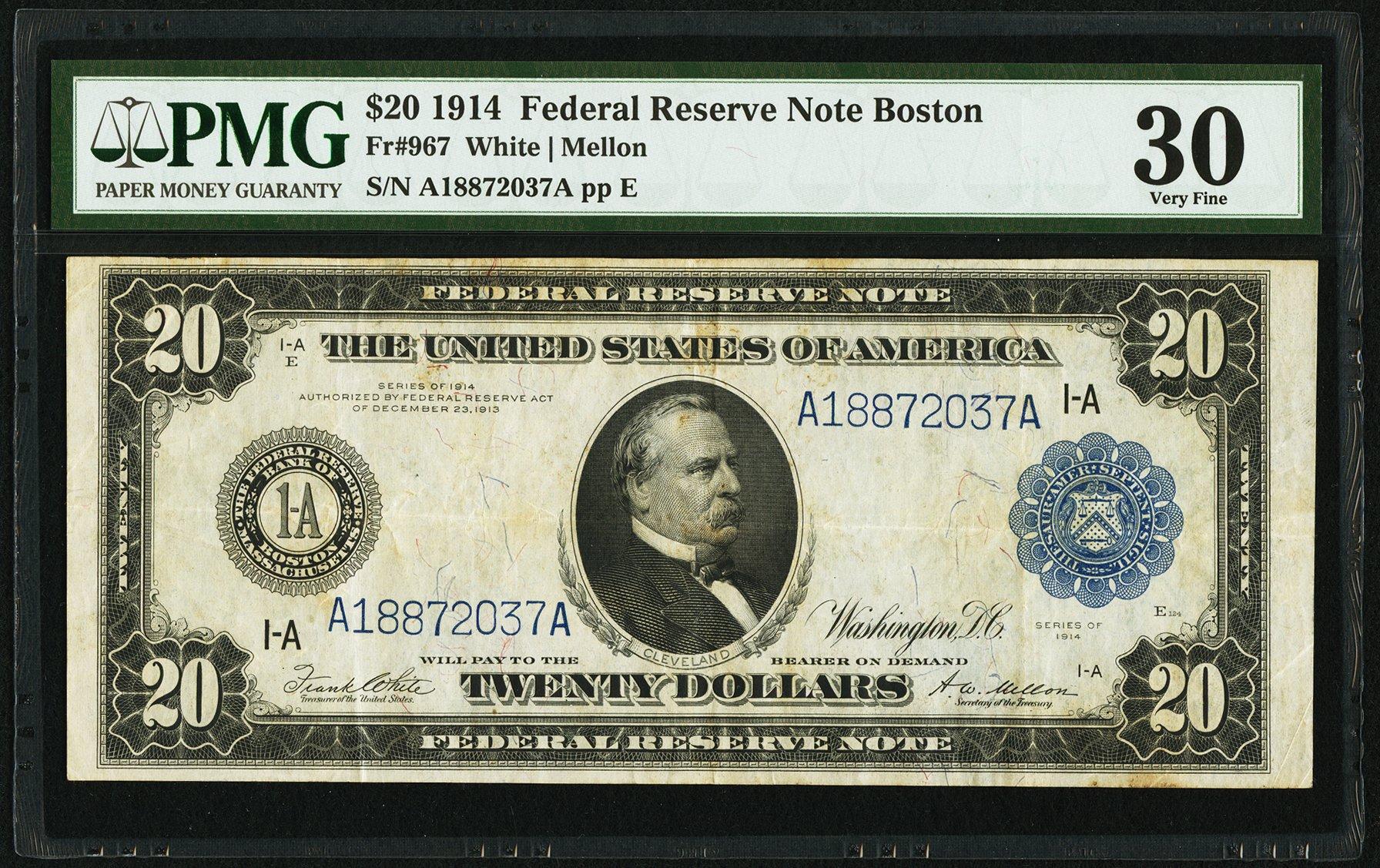 sample image for Fr.967 $20 Boston