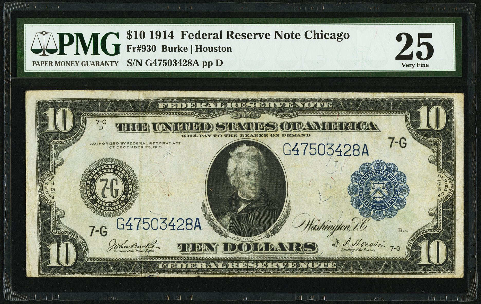 sample image for Fr.930 $10 Chicago