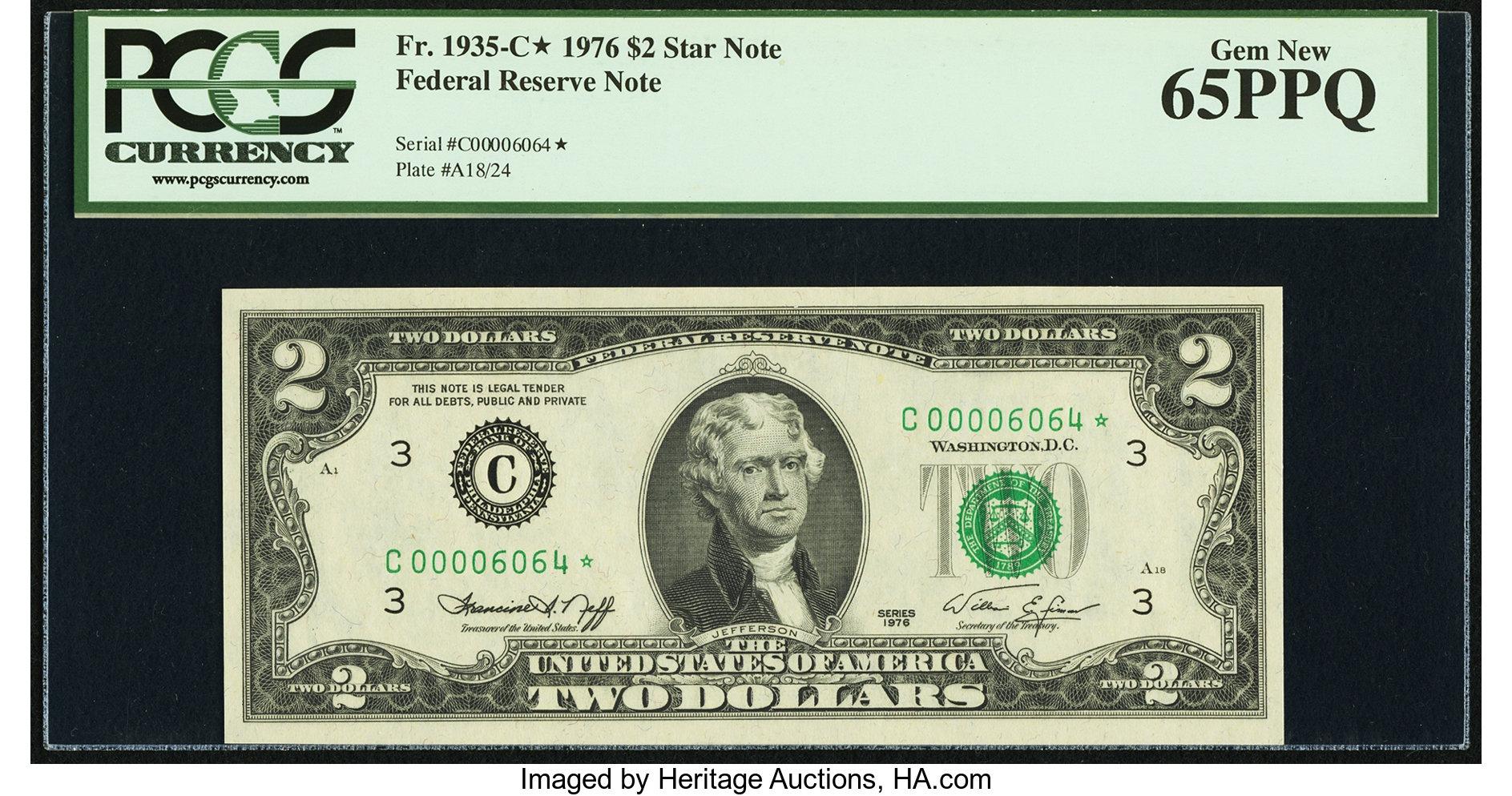 sample image for 1976 $2  Philadelphia (Fr.# 1935C*)