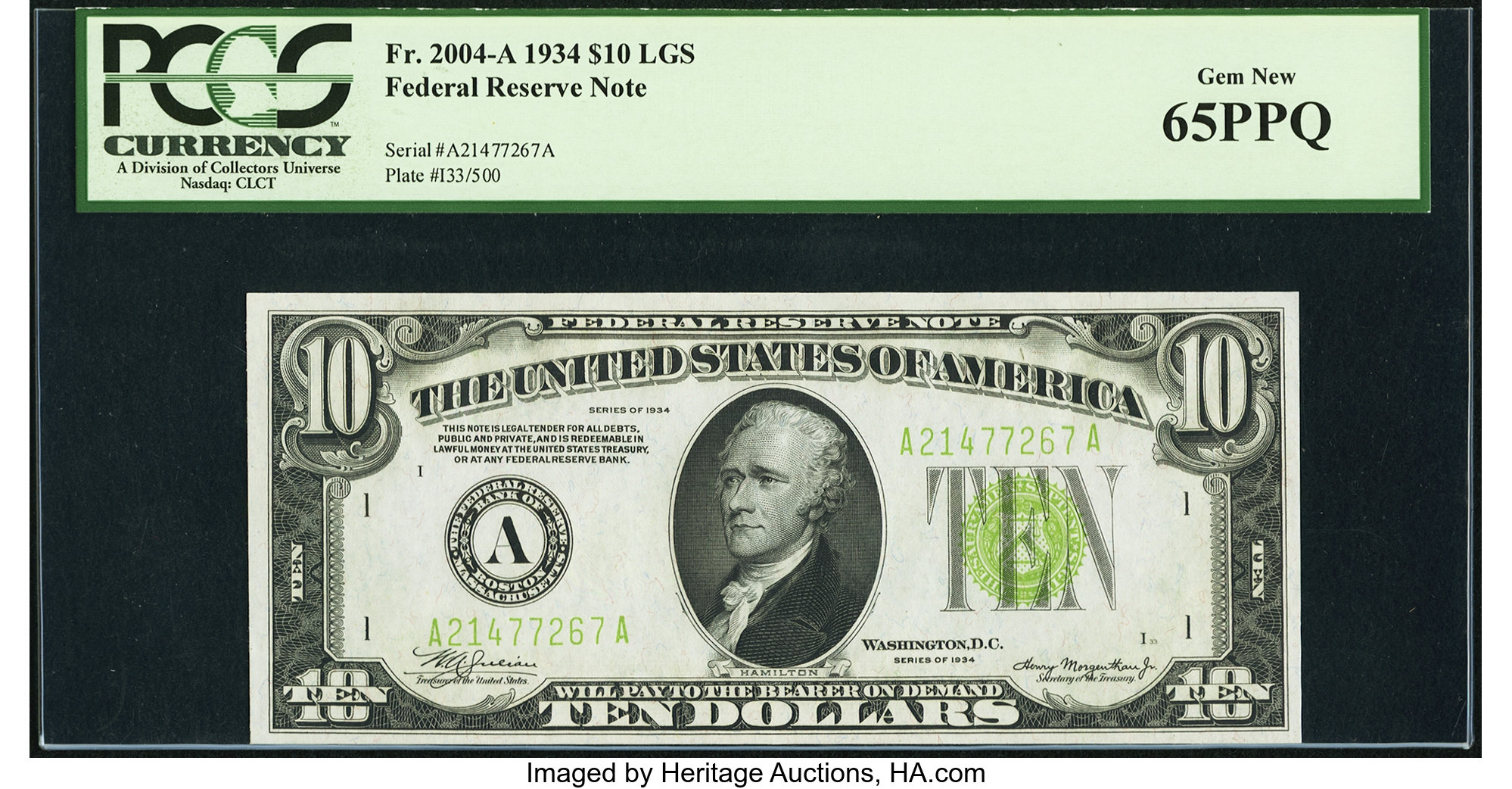 sample image for Fr.2004A $10