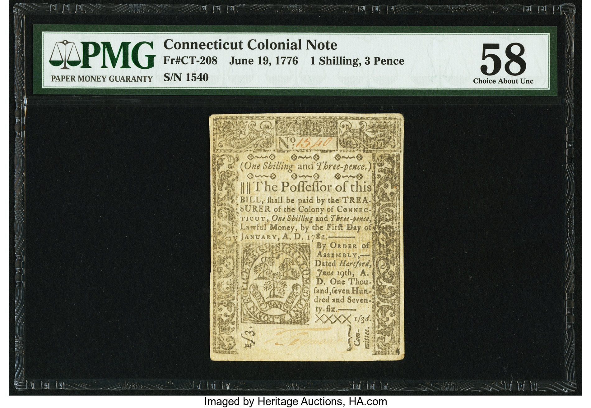 sample image for 1776 19-Jun 1s/3d (Fr.# CT208)