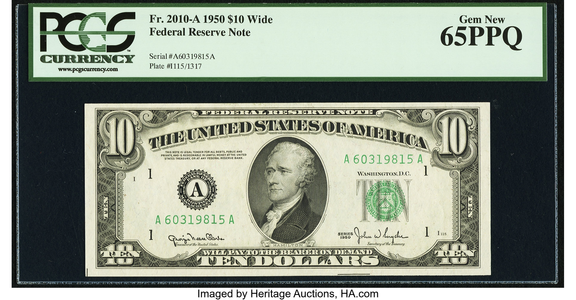sample image for Fr.2010A $10