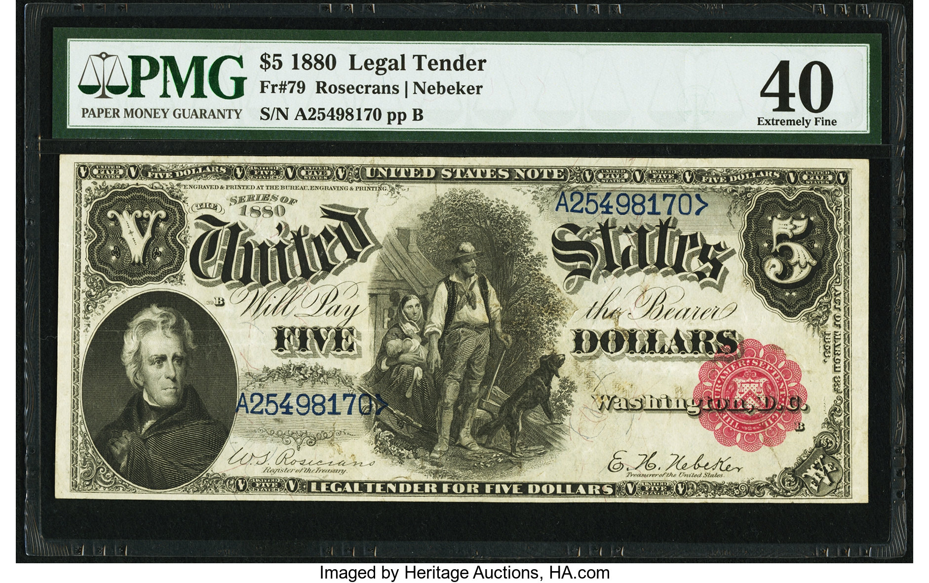 sample image for 1880 $5  (Fr.# 79)