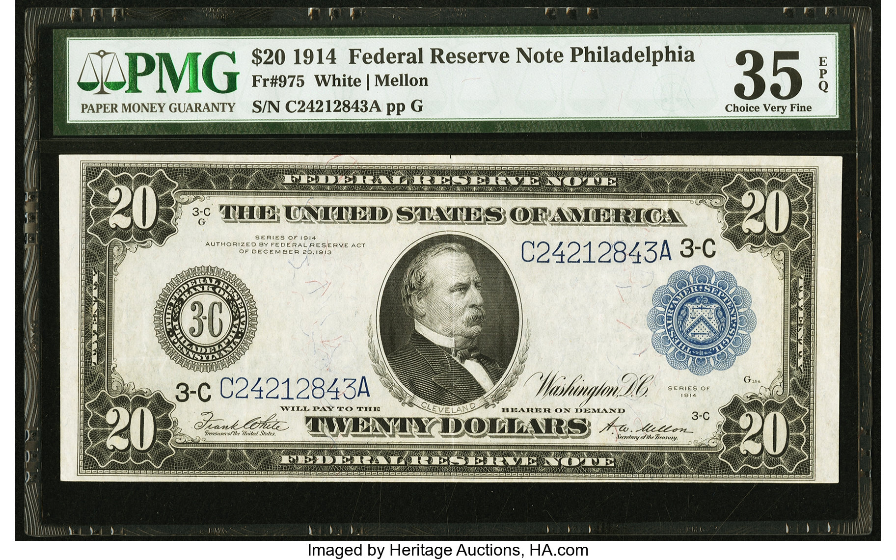 sample image for Fr.975 $20 Philly