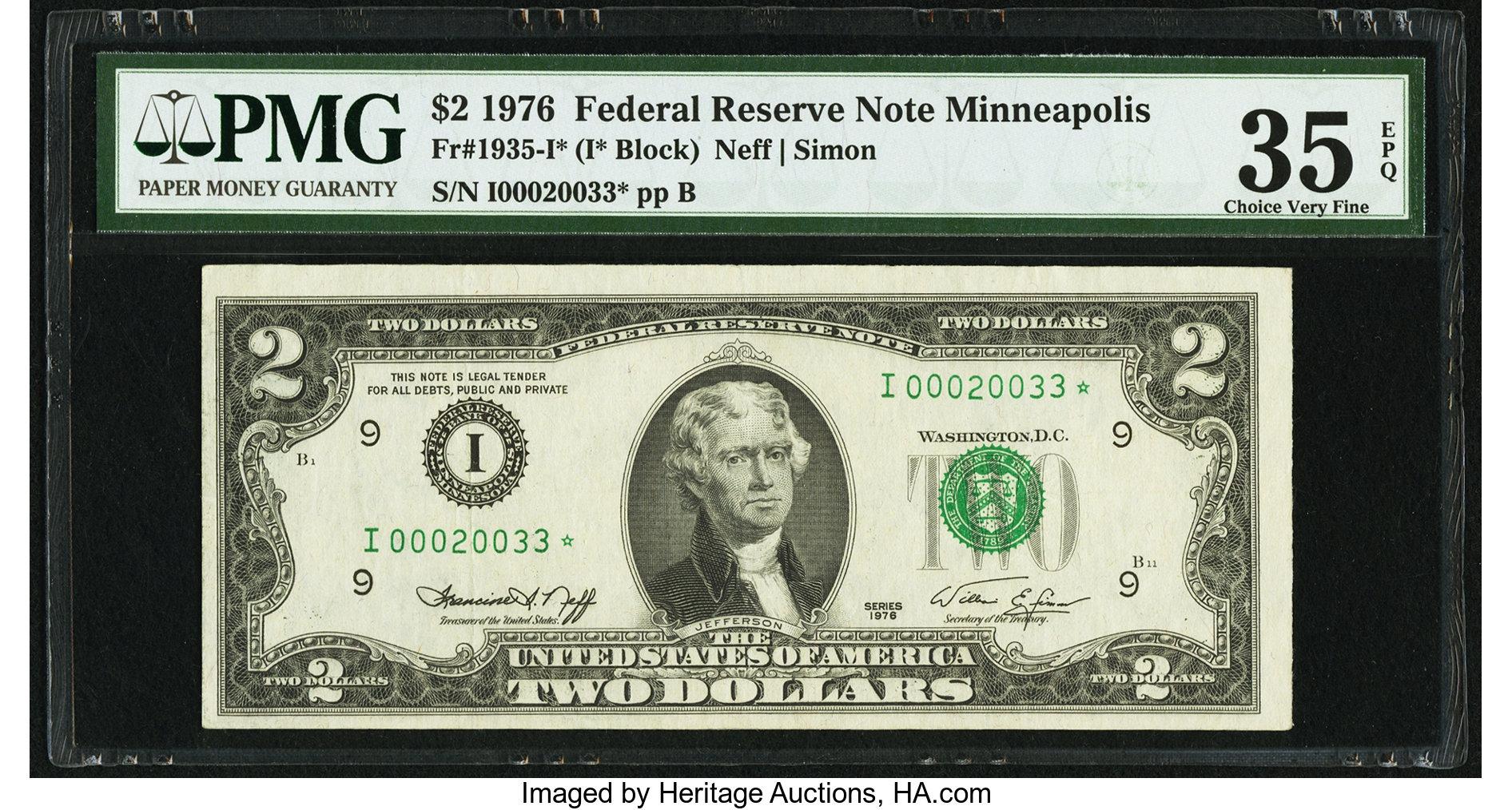 sample image for 1976 $2  Minneapolis (Fr.# 1935I*)