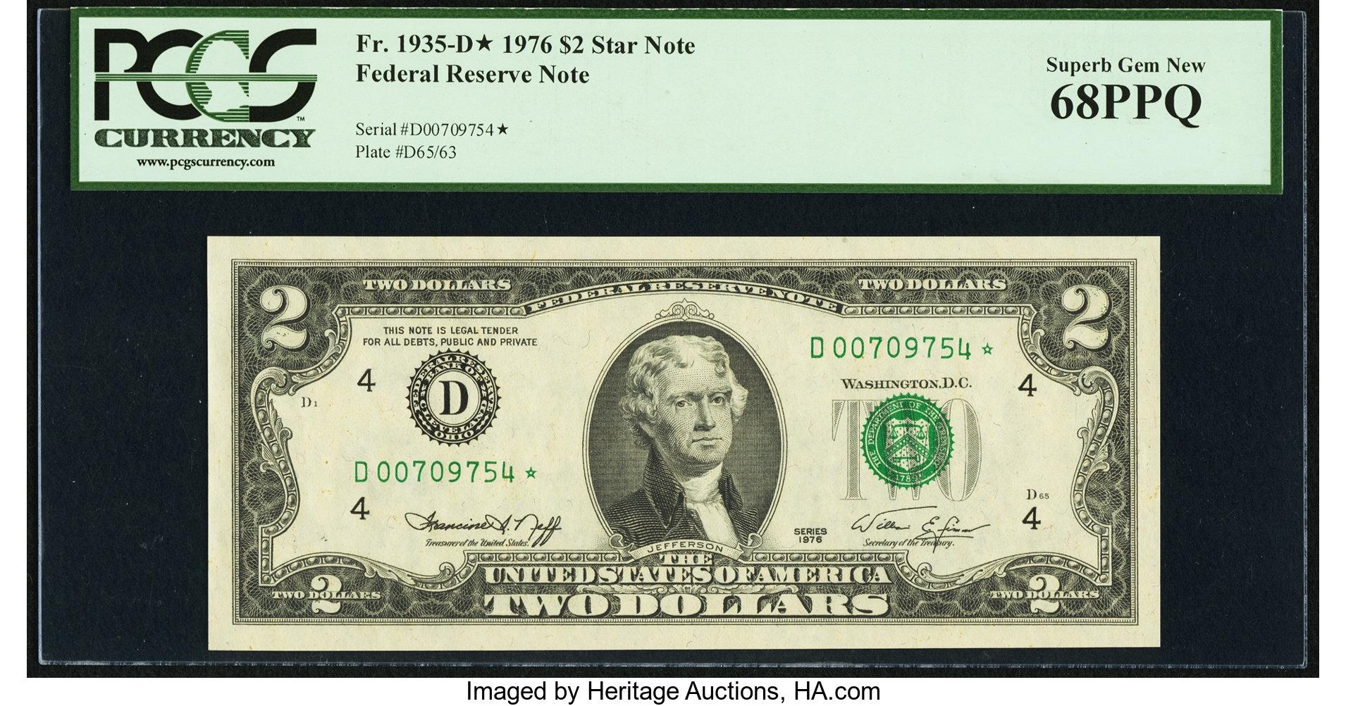 sample image for 1976 $2  Cleveland (Fr.# 1935D*)