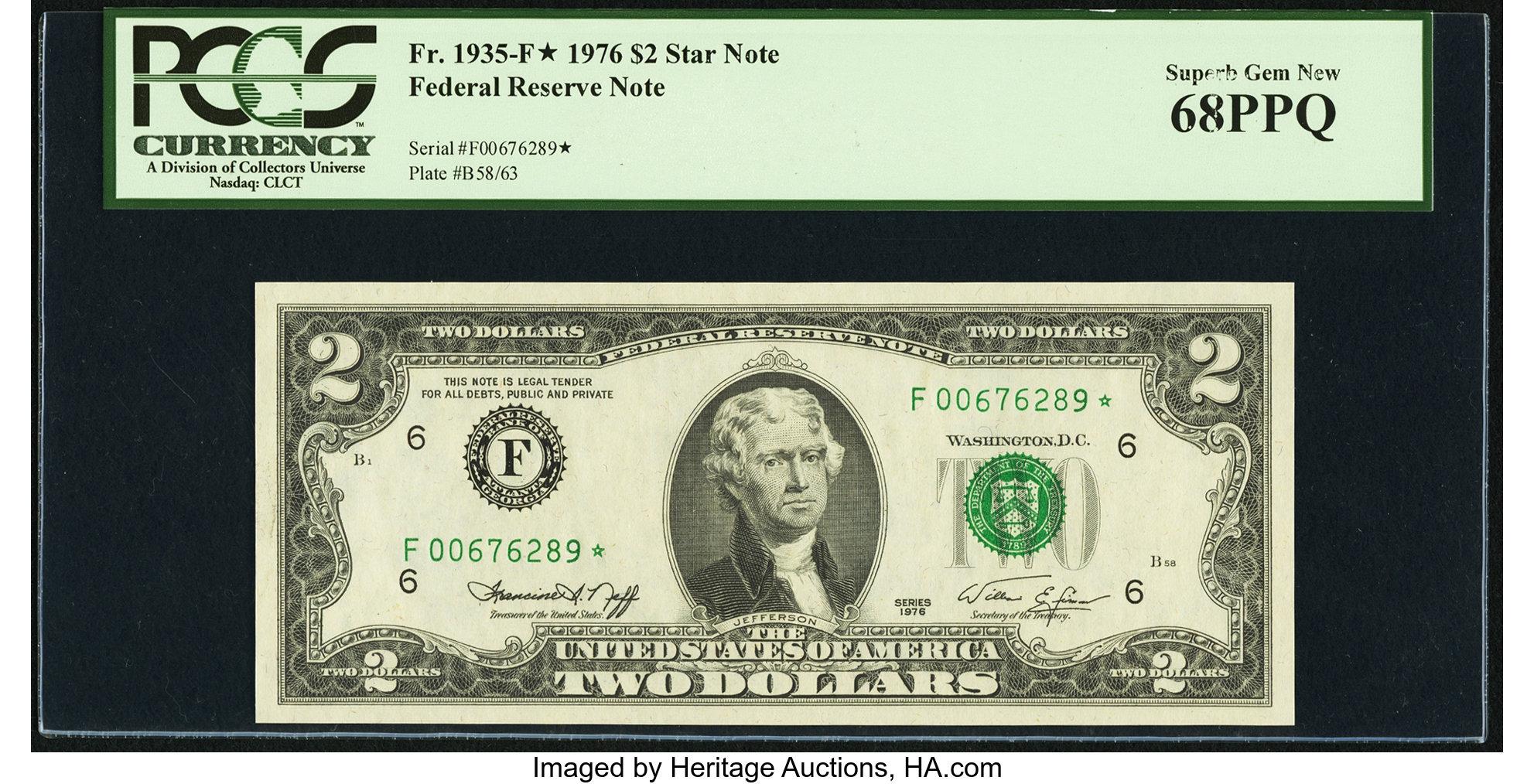 sample image for 1976 $2  Atlanta (Fr.# 1935F*)
