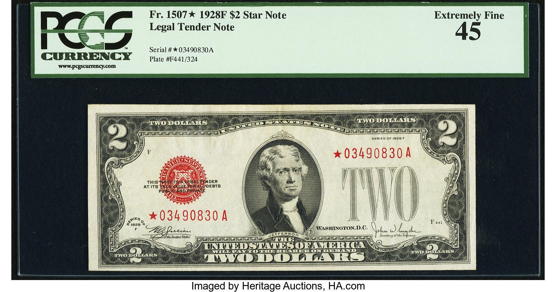 sample image for 1928F $2  (Fr.# 1507*)