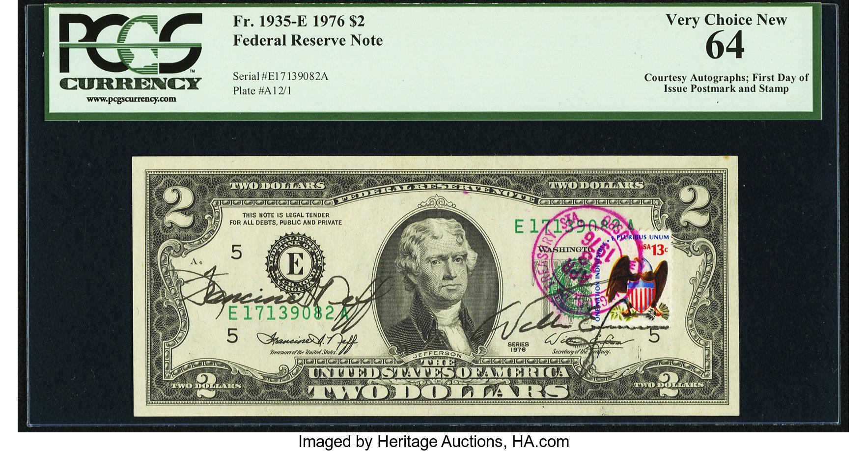 sample image for 1976 $2  Richmond (Fr.# 1935E)