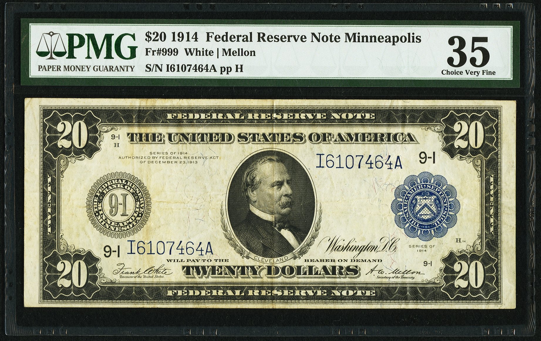 sample image for Fr.999 $20 Minneapolis