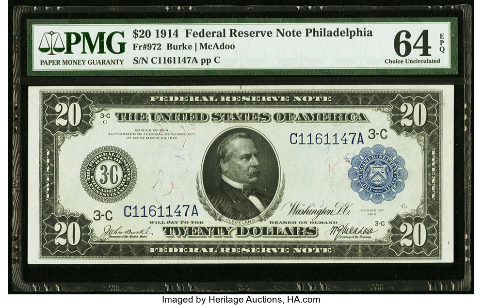 sample image for Fr.972 $20 Philly