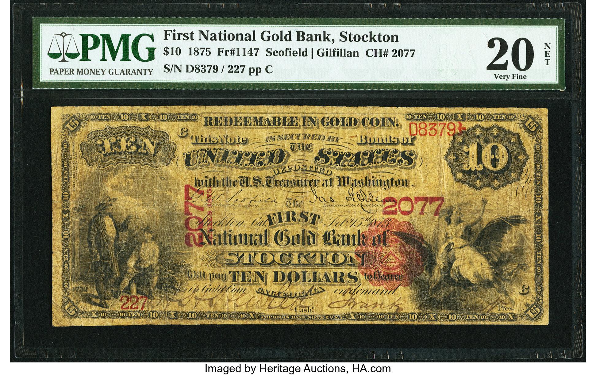 sample image for 1875 $10  Stockton (Fr.# 1147)