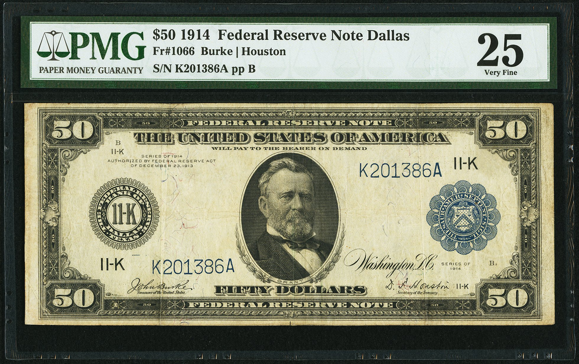sample image for Fr.1066 $50 Dallas