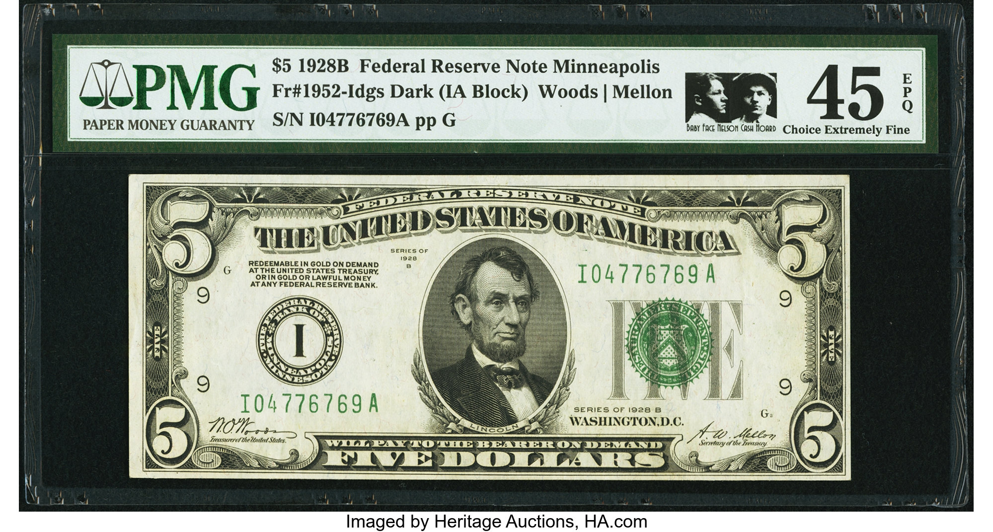 sample image for 1928B $5  Minneapolis (Fr.# 1952I)
