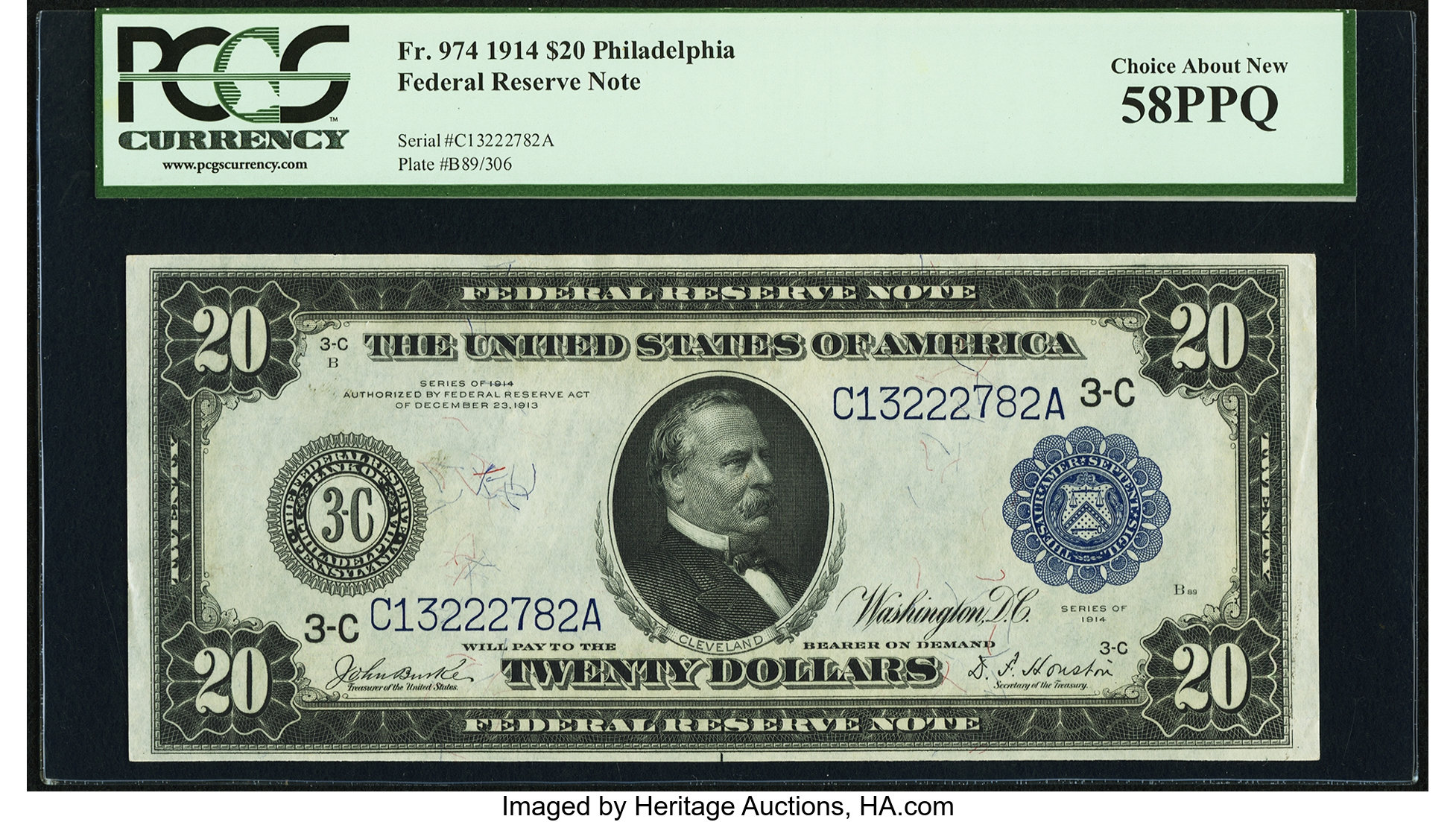 sample image for Fr.974 $20 Philly