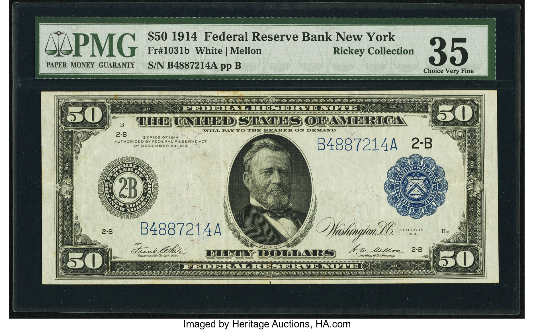sample image for Fr.1031B $50 NY