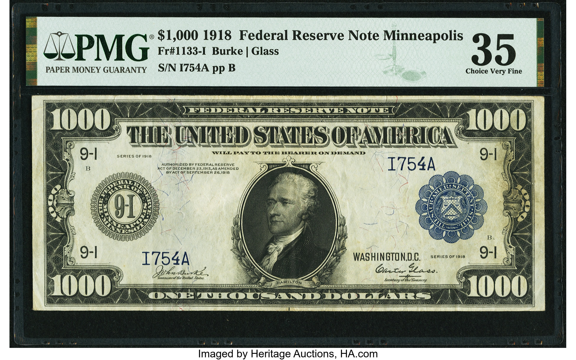 sample image for Fr.1133-I $1,000 Minneapolis