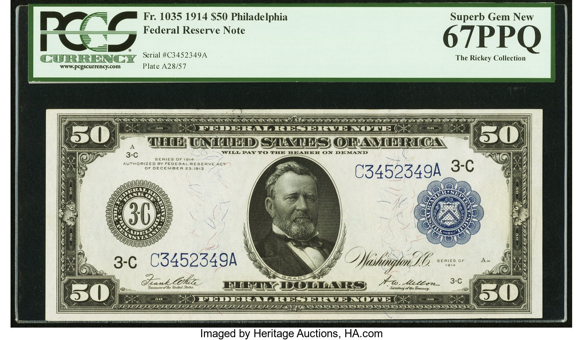 sample image for Fr.1035 $50 Philly