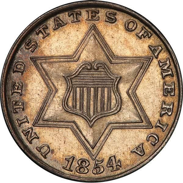 sample image for Three-Cent Silver, Ty. 2 [Type]