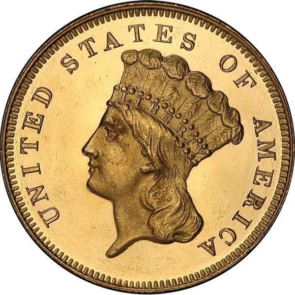 sample image for 1878 $3  PR DCAM