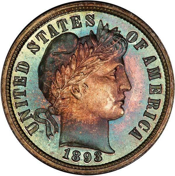 sample image for 1893 10c PR CAM