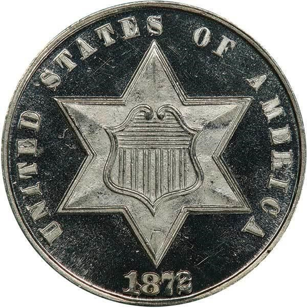 sample image for Three-Cent Silver, Ty. 3 DCAM [Type]