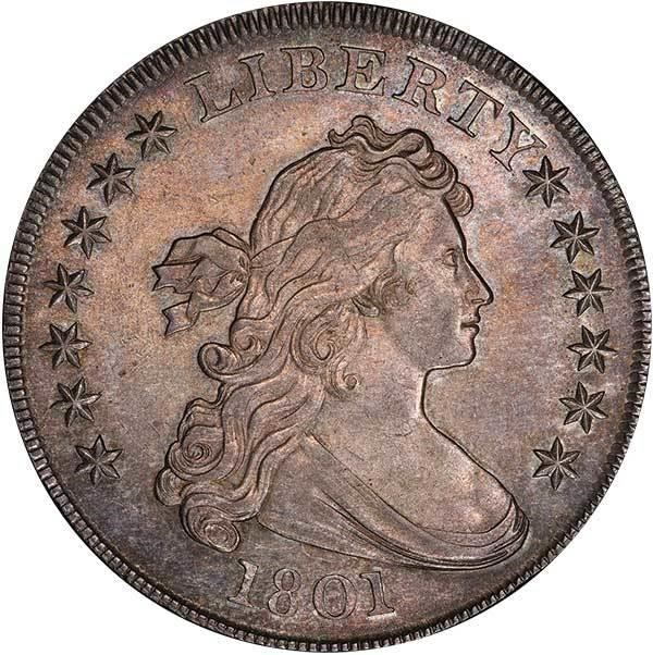 sample image for 1801 $1  MS