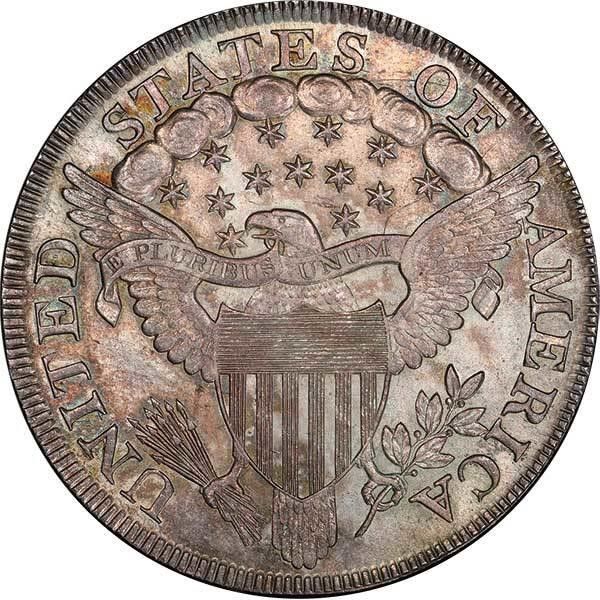 sample image for 1798-1804 Draped Bust $1  MS Large Eagle [Type]