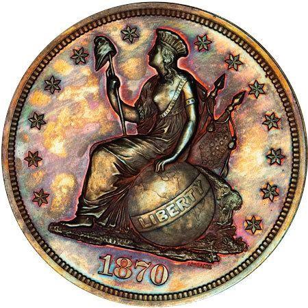 sample image for 1870 P$1 (J-1017) PR BN