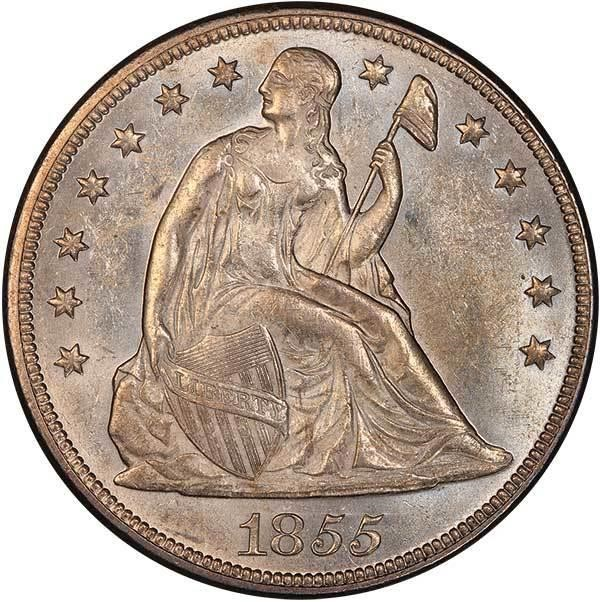 sample image for 1855 $1  MS