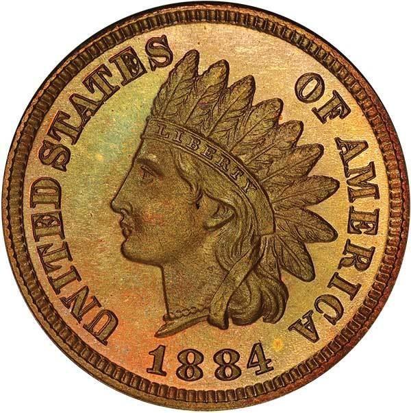 sample image for 1884 1c PR RB