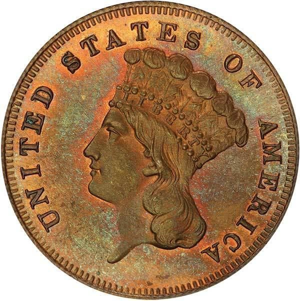 sample image for 1875 P$3 (J-1436) PR RB