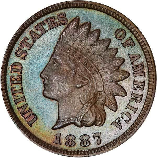 sample image for 1887 1c PR BN