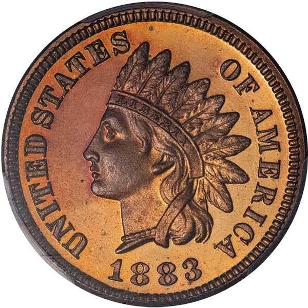 sample image for 1883 1c PR RB