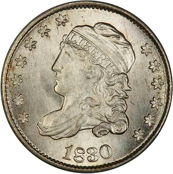 sample image for Capped Bust Half Dime [Type]