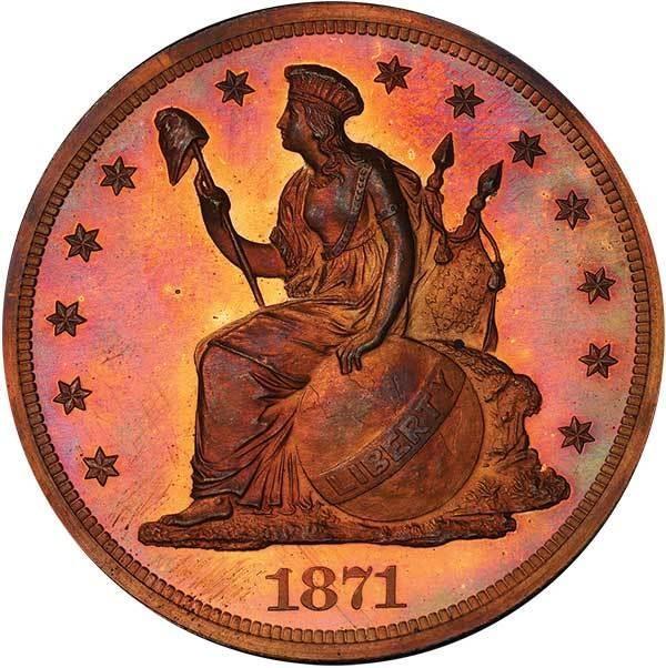 sample image for 1871 P$1 (J-1148) PR RB