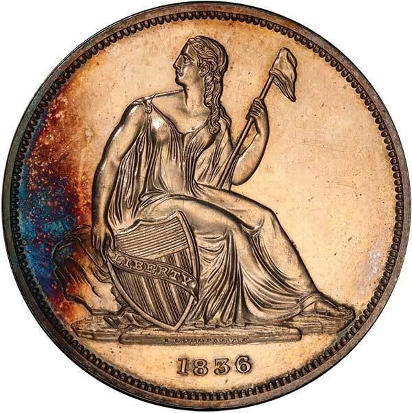 sample image for 1836 Name on Base, Res, Coin Align