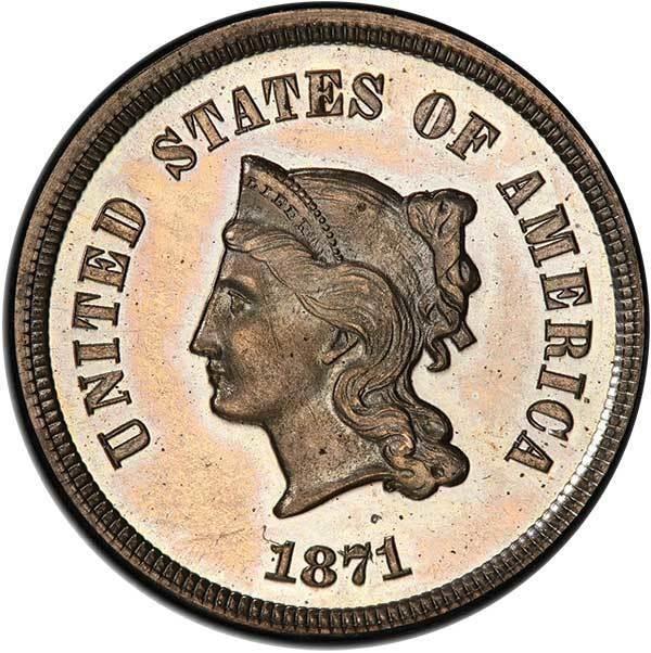 sample image for 1871 P5c (J-1050) PR