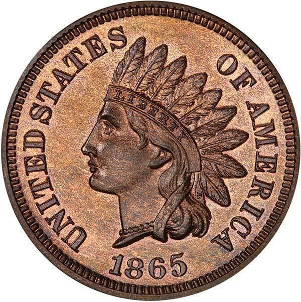 sample image for 1864-1909 1c PR BN Bronze [Type]