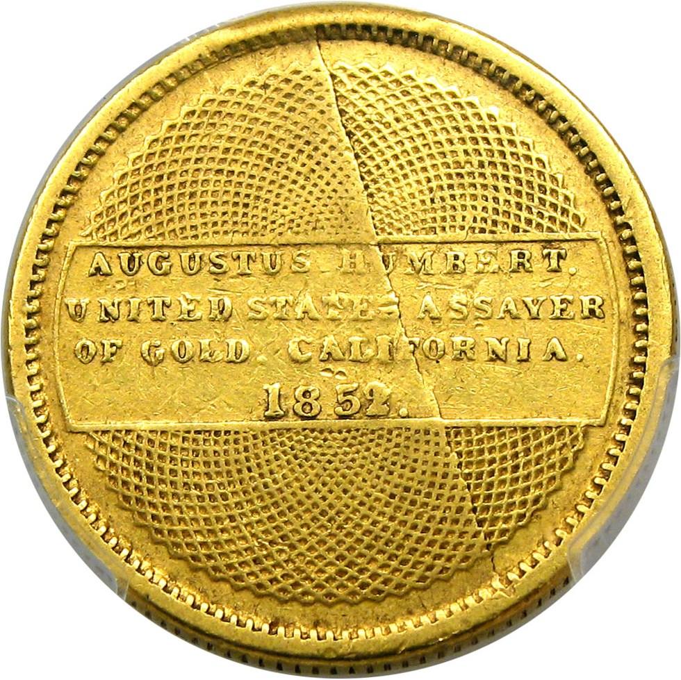 sample image for 1852/1 $10 Humbert (K-8)