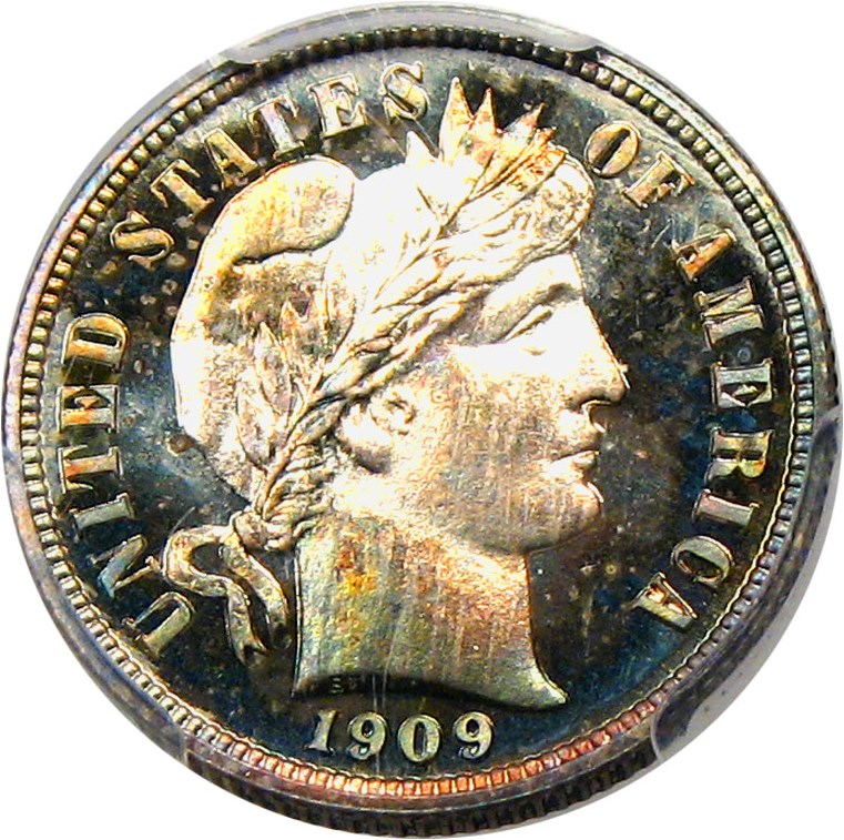 sample image for 1909 10c PR CAM