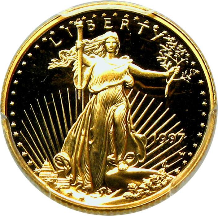 sample image for 1997-W Gold Eagle $5  PR DCAM