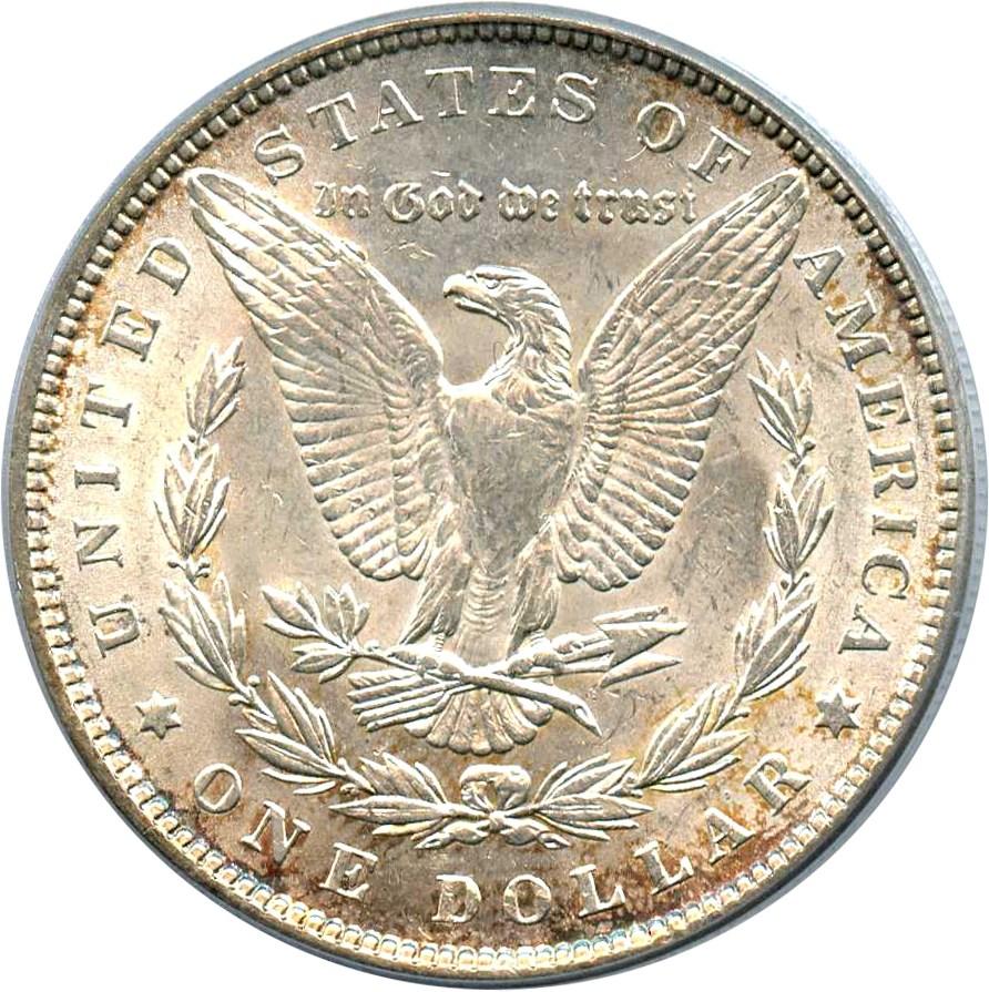 sample image for 1889 $1  MS VAM-22, Bar Wing