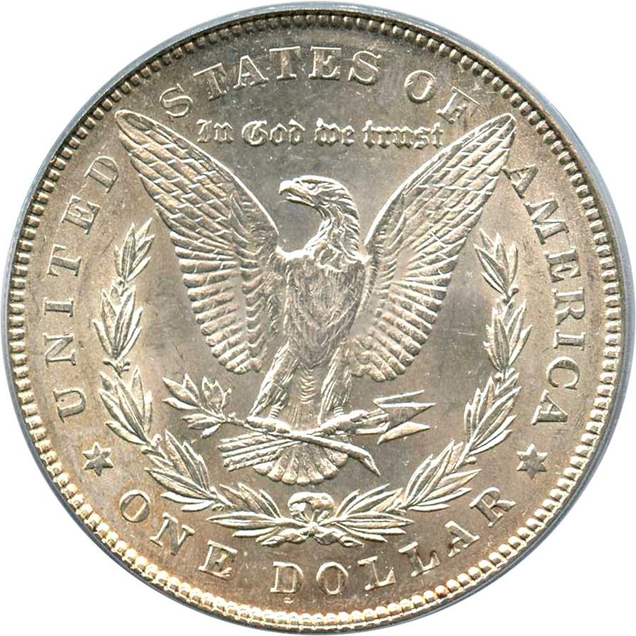 sample image for 1878 7TF Reverse of 1878 $1  MS VAM-199.1 Trpl Blos