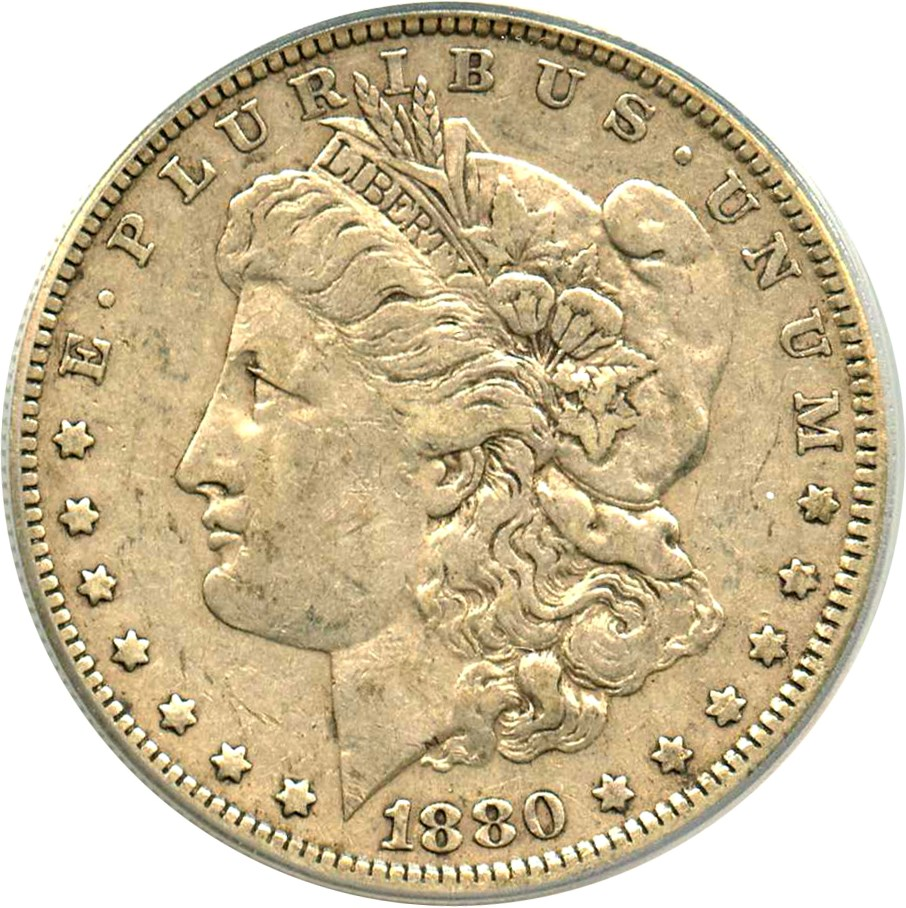 sample image for 1880 $1  MS VAM-8, 8/7 Ears