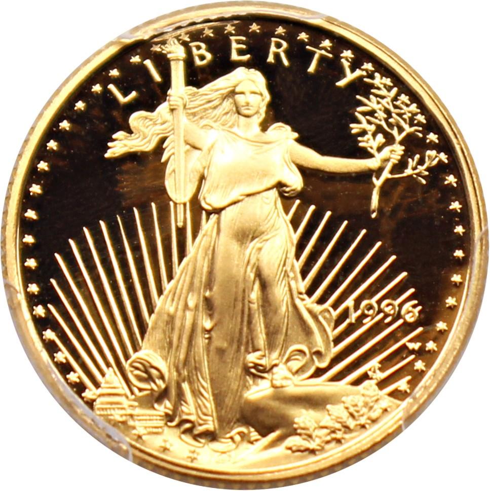 sample image for 1996-W Gold Eagle $5  PR DCAM