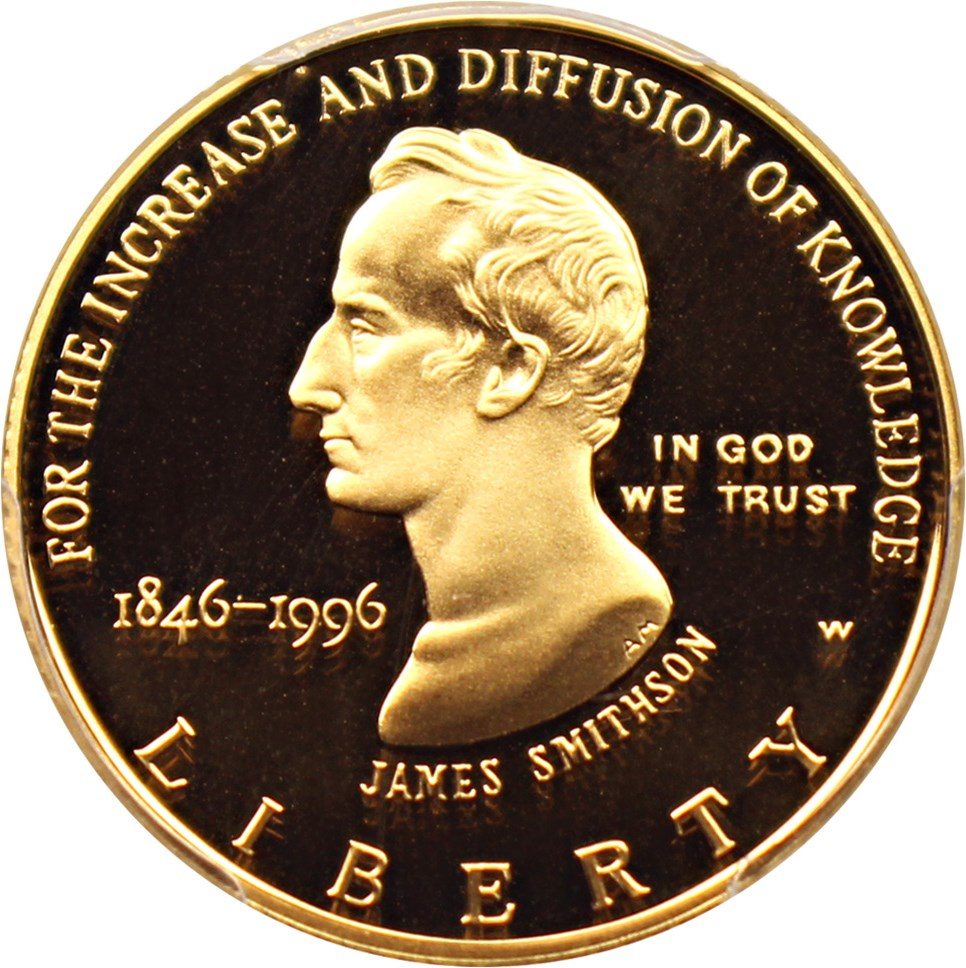 sample image for 1996-W Smithsonian $5  PR DCAM