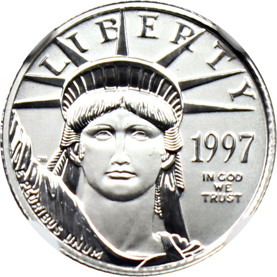 sample image for 1997 Platinum Eagle $10  MS