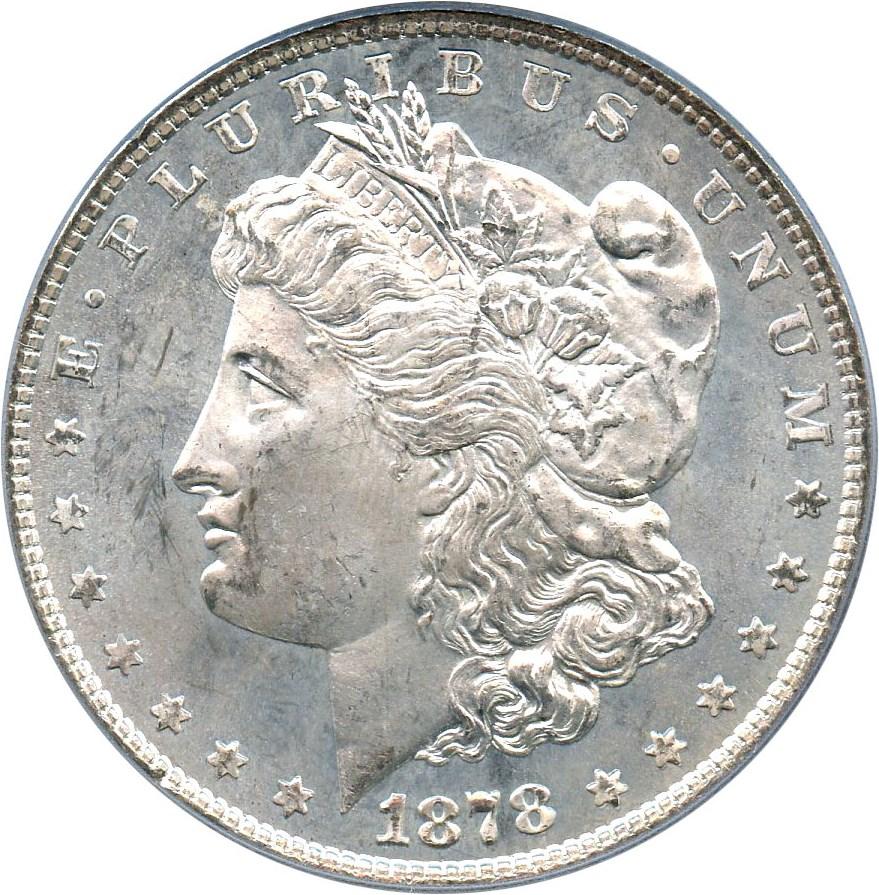 sample image for 1878 8TF $1  MS VAM-6, Pierced Eyelid